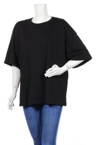 Дамска тениска Even&Odd, Размер M, Цвят Черен, Памук, Цена 27,00лв.