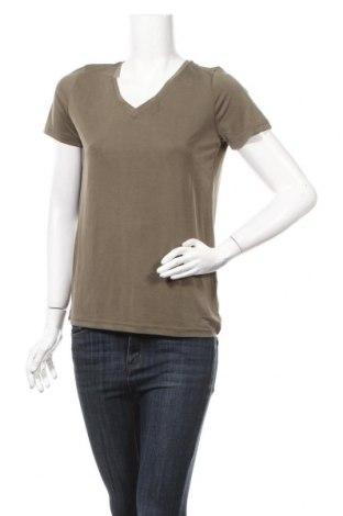 Дамска тениска Fransa, Размер S, Цвят Зелен, 65% модал, 35% полиестер, Цена 13,92лв.