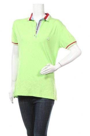 Дамска тениска Giorgio Di Mare, Размер XXL, Цвят Зелен, 92% памук, 8% еластан, Цена 44,20лв.