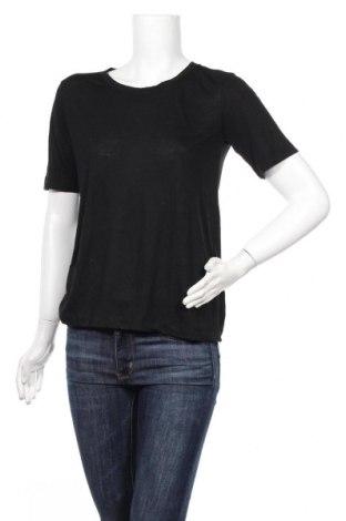Γυναικείο t-shirt Jacqueline De Yong, Μέγεθος S, Χρώμα Μαύρο, 60% πολυεστέρας, 40% βισκόζη, Τιμή 7,22€