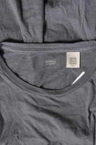 Дамска тениска Levi's, Размер S, Цвят Сив, Памук, Цена 30,16лв.