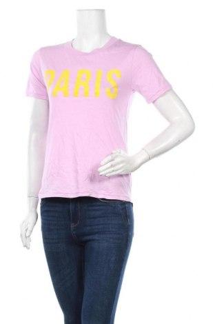 Дамска тениска Mbym, Размер XS, Цвят Лилав, Памук, Цена 44,25лв.
