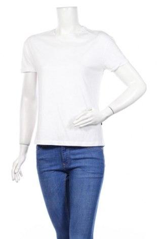 Γυναικείο t-shirt Noisy May, Μέγεθος S, Χρώμα Λευκό, Βαμβάκι, Τιμή 8,25€
