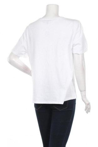 Дамска тениска Second Script, Размер XL, Цвят Бял, Памук, Цена 18,56лв.