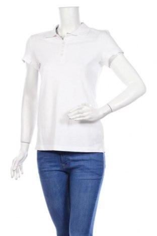 Дамска тениска Tom Tailor, Размер M, Цвят Бял, Памук, Цена 21,00лв.