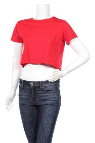 Γυναικείο t-shirt Trendyol, Μέγεθος M, Χρώμα Κόκκινο, Βαμβάκι, Τιμή 6,86€