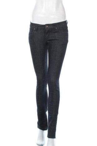 Дамски дънки 21, Размер S, Цвят Сив, 83% памук, 16% полиестер, 1% еластан, Цена 15,23лв.