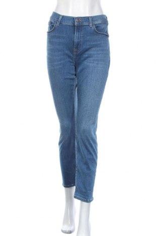 Дамски дънки 7 For All Mankind, Размер L, Цвят Син, 94% памук, 4% полиестер, 2% еластан, Цена 70,52лв.