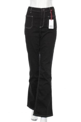 Дамски дънки BDG, Размер M, Цвят Черен, 91% памук, 7% полиестер, 2% еластан, Цена 40,30лв.
