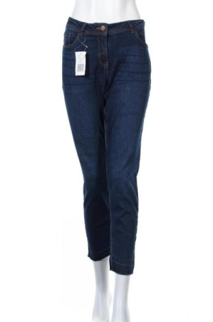 Дамски дънки Blue Motion, Размер L, Цвят Син, 98% памук, 2% еластан, Цена 20,32лв.