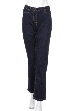 Дамски дънки Bpc Bonprix Collection, Размер M, Цвят Син, 98% памук, 2% еластан, Цена 12,76лв.