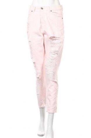 Дамски дънки Dr. Denim, Размер M, Цвят Розов, Памук, Цена 22,58лв.