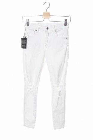 Дамски дънки Dr. Denim, Размер S, Цвят Бял, 98% памук, 2% еластан, Цена 30,60лв.