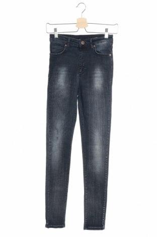 Дамски дънки Fiveunits, Размер S, Цвят Син, 98% памук, 2% еластан, Цена 7,72лв.