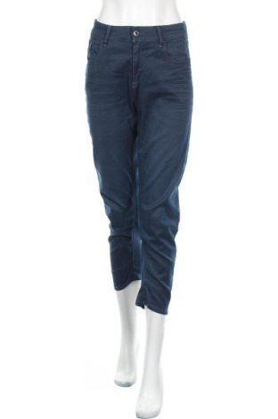 Дамски дънки G-Star Raw, Размер M, Цвят Син, 87% памук, 12% полиестер, 1% еластан, Цена 28,98лв.