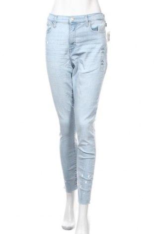 Дамски дънки Gap, Размер XL, Цвят Син, 85% памук, 13% полиестер, 2% еластан, Цена 47,88лв.