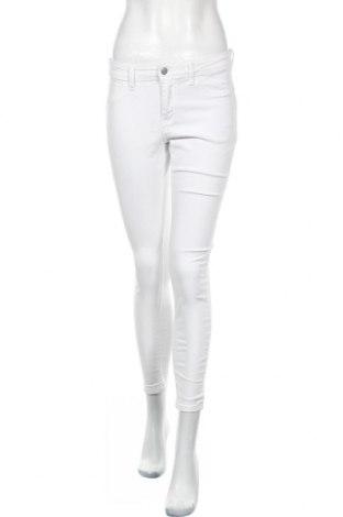 Дамски дънки Jdy, Размер M, Цвят Бял, 98% памук, 2% еластан, Цена 18,24лв.