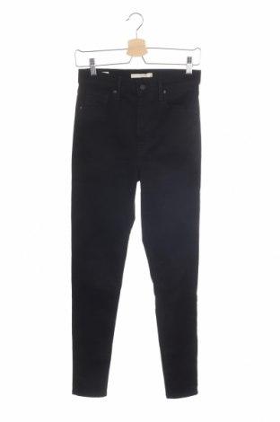 Дамски дънки Levi's, Размер M, Цвят Черен, Цена 81,12лв.