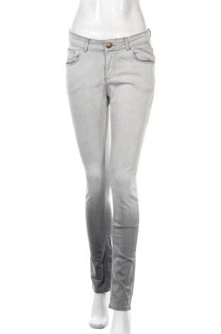 Дамски дънки Never Denim, Размер M, Цвят Сив, 98% памук, 2% еластан, Цена 32,00лв.