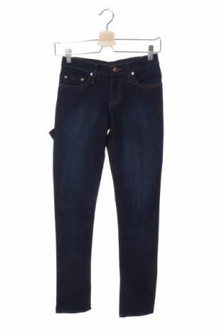 Дамски дънки Nobody, Размер XS, Цвят Син, 72% памук, 28% еластан, Цена 10,24лв.