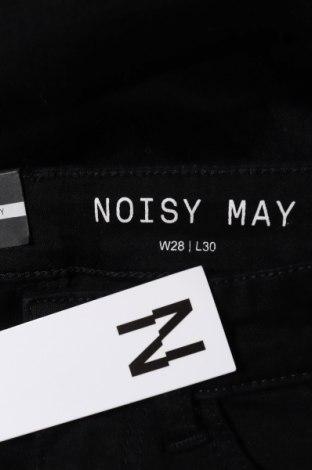 Дамски дънки Noisy May, Размер S, Цвят Черен, 75% памук, 18% полиестер, 2% еластан, 5% вискоза, Цена 35,10лв.