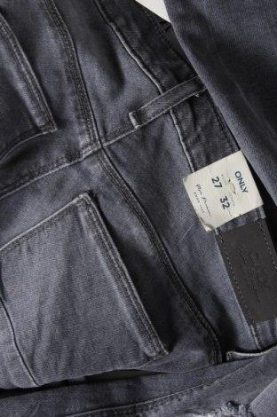 Дамски дънки ONLY, Размер S, Цвят Сив, 98% памук, 2% еластан, Цена 34,50лв.