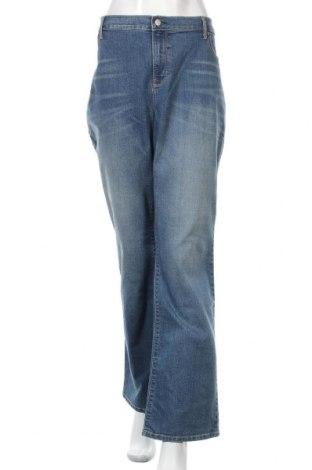Дамски дънки Old Navy, Размер 3XL, Цвят Син, 86% памук, 13% полиестер, 1% еластан, Цена 41,60лв.