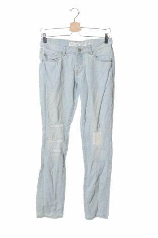Дамски дънки Q/S by S.Oliver, Размер S, Цвят Син, 99% памук, 1% еластан, Цена 4,10лв.