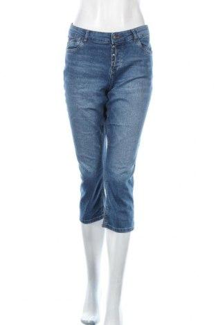 Дамски дънки S.Oliver, Размер L, Цвят Син, 76% памук, 16% полиестер, 7% вискоза, 1% еластан, Цена 10,40лв.