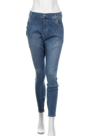 Дамски дънки SikSilk, Размер M, Цвят Син, 98% памук, 2% еластан, Цена 52,93лв.