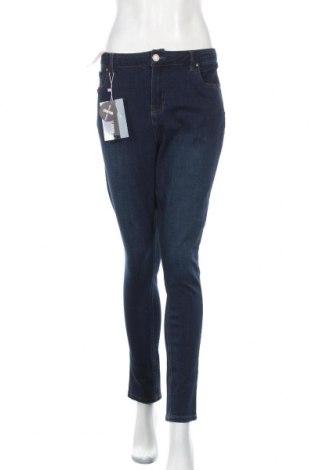 Дамски дънки Simply Be, Размер XL, Цвят Син, 59% памук, 21% вискоза, 17% полиестер, 3% еластан, Цена 49,40лв.