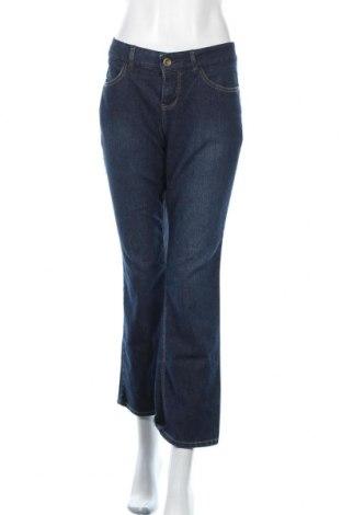 Дамски дънки Sonoma, Размер L, Цвят Син, 76% памук, 23% полиестер, 1% еластан, Цена 9,66лв.