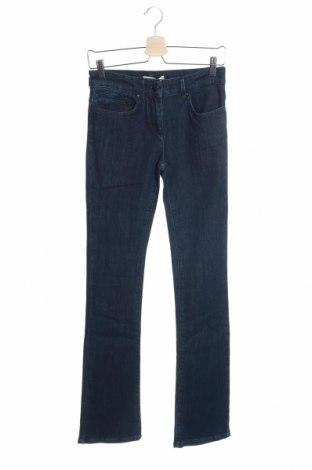 Дамски дънки Stefanel, Размер XS, Цвят Син, 96% памук, 4% еластан, Цена 22,72лв.