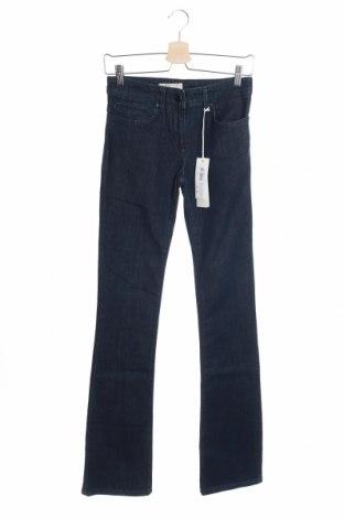 Дамски дънки Stefanel, Размер S, Цвят Син, 99% памук, 1% еластан, Цена 19,76лв.