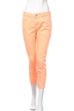 Дамски дънки Tommy Hilfiger, Размер M, Цвят Оранжев, Памук, еластан, Цена 54,81лв.