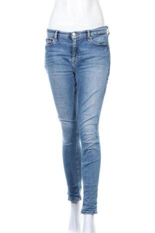 Дамски дънки Tommy Hilfiger, Размер M, Цвят Син, 99% памук, 1% еластан, Цена 119,07лв.