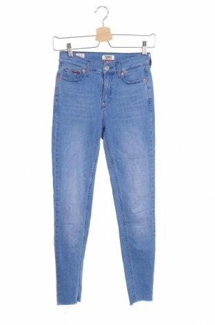 Дамски дънки Tommy Hilfiger, Размер XXS, Цвят Син, 92% памук, 6% полиестер, 2% еластан, Цена 134,00лв.