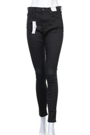 Дамски дънки Topshop, Размер L, Цвят Черен, 86% памук, 11% полиестер, 3% еластан, Цена 45,50лв.