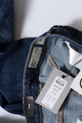 Дамски дънки Vero Moda, Размер M, Цвят Син, 85% памук, 13% полиестер, 2% еластан, Цена 38,35лв.