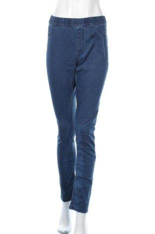 Дамски дънки Vrs Woman, Размер XL, Цвят Син, 72% памук, 25% полиестер, 3% еластан, Цена 15,02лв.