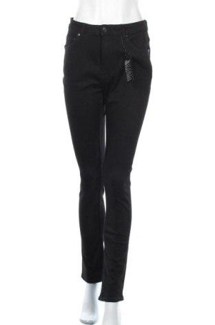 Дамски дънки Weekday, Размер L, Цвят Черен, 98% памук, 2% еластан, Цена 46,50лв.