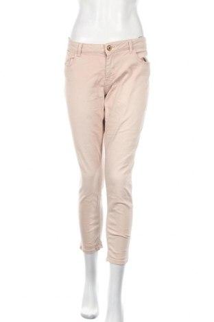 Дамски дънки Zara, Размер XL, Цвят Пепел от рози, 91% памук, 7% полиестер, 2% еластан, Цена 23,21лв.