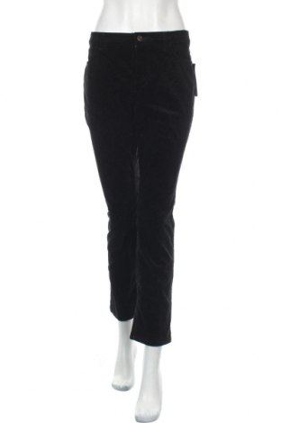 Дамски джинси Chaps, Размер L, Цвят Черен, 98% памук, 2% еластан, Цена 15,96лв.