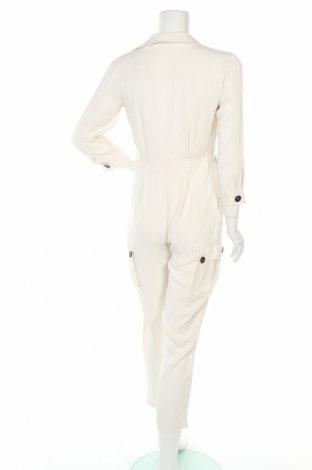 Дамски гащеризон Massimo Dutti, Размер S, Цвят Бял, Вискоза, Цена 49,17лв.