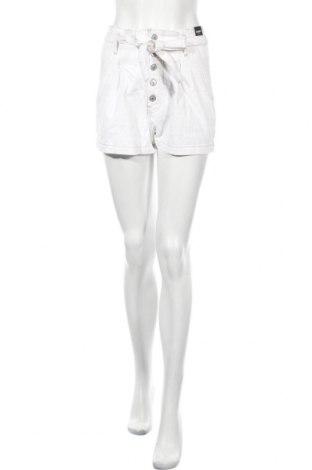 Γυναικείο κοντό παντελόνι Abercrombie & Fitch, Μέγεθος XS, Χρώμα Λευκό, Βαμβάκι, Τιμή 17,79€