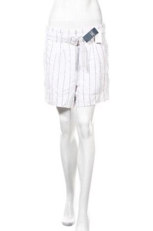 Γυναικείο κοντό παντελόνι Abercrombie & Fitch, Μέγεθος M, Χρώμα Λευκό, 55% λινό, 45% βισκόζη, Τιμή 33,17€