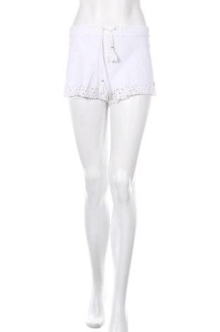 Γυναικείο κοντό παντελόνι Banana Moon, Μέγεθος L, Χρώμα Λευκό, Τιμή 10,17€