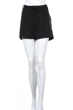 Γυναικείο κοντό παντελόνι Jacqueline De Yong, Μέγεθος L, Χρώμα Μαύρο, 65% βισκόζη, 30% πολυαμίδη, 5% ελαστάνη, Τιμή 9,28€