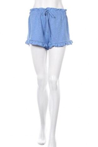 Γυναικείο κοντό παντελόνι Miss Selfridge, Μέγεθος M, Χρώμα Μπλέ, Βαμβάκι, Τιμή 14,74€