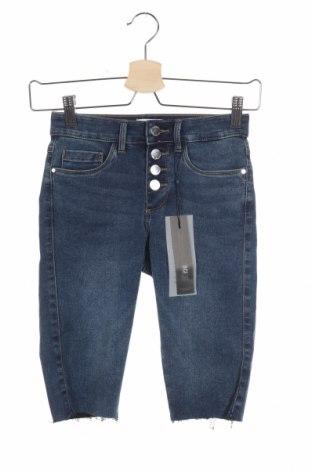 Γυναικείο κοντό παντελόνι ONLY, Μέγεθος XS, Χρώμα Μπλέ, 69% βαμβάκι, 29% πολυεστέρας, 2% ελαστάνη, Τιμή 15,16€